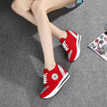 017 Latest models women Spring flat bottom students casual single female training shoes Fashion High-quality vulcanized shoes