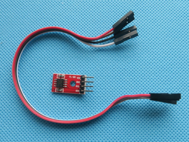 AT24C08 IIC/I2C Interfaz de Puerto Serie Del Módulo de Memoria EEPROM Para DIY D