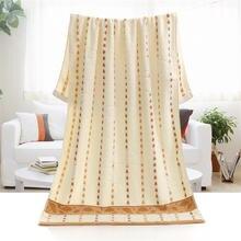 Бесплатная доставка 100% хлопковые полотенца 70x140 см милые