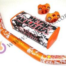 """Pro Taper Fat Bar Metall Mulisha Pack 1-1/8 """"Dirt bike Pit bike KTM Orange Farbe Lenker Motocross MX Racing Lenker"""