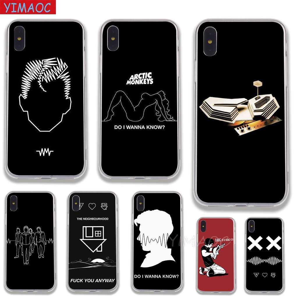 YIMAOC Arctic Monkeys Мягкий силиконовый чехол из ТПУ для iPhone 8 7 6 6 S плюс 5 5S SE X XS Max XR Coque основа случаях