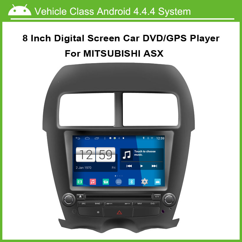 Android Car DVD Video Player For Mitsubishi ASX 2010-2011 GPS navigation Speed 3G, enjoy the built-in WiFi