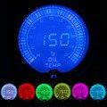 """IZTOSS 2 """"(52 мм) ЖК-ДИСПЛЕЙ 7 цвет температура Масла датчик с датчиком/автоматический измерительный прибор/car метр"""