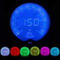 "IZTOSS 2""(52mm) LCD 7 color Oil temp gauge with sensor/auto gauge/car meter"