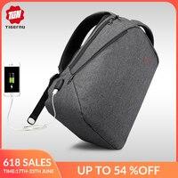 Tigernu Brand USB Charging Travel Backpack Men Light Backbag Female Backpacks 15 inch Laptop backpack schoolbag for teenage