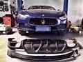 Ghibli diffuser+spoiler set--Aspec style carbon fiber diffuser for Maserati Ghibli Perfect fitment & nice quality guaranteed!