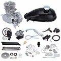 (Корабль из ЕС) мопед мотоцикл 50cc 2 тактный бензиновый газовый комплект моторного двигателя DIY Ebike подойдет 26