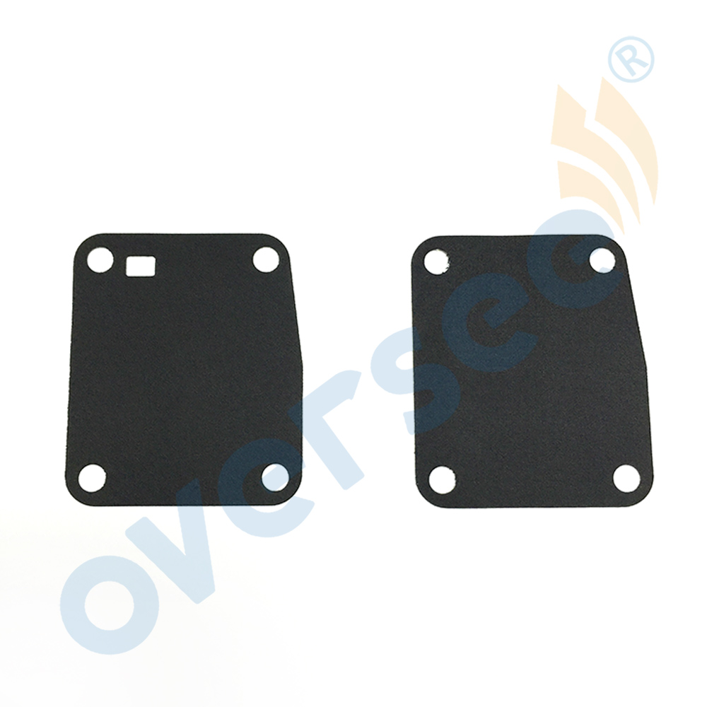 2x For Yamaha Outboard DIAPHRAGM INTAKE 8HP 9.9HP 15HP 8 9.9 15 6G1-24411-00 63V-24411-00