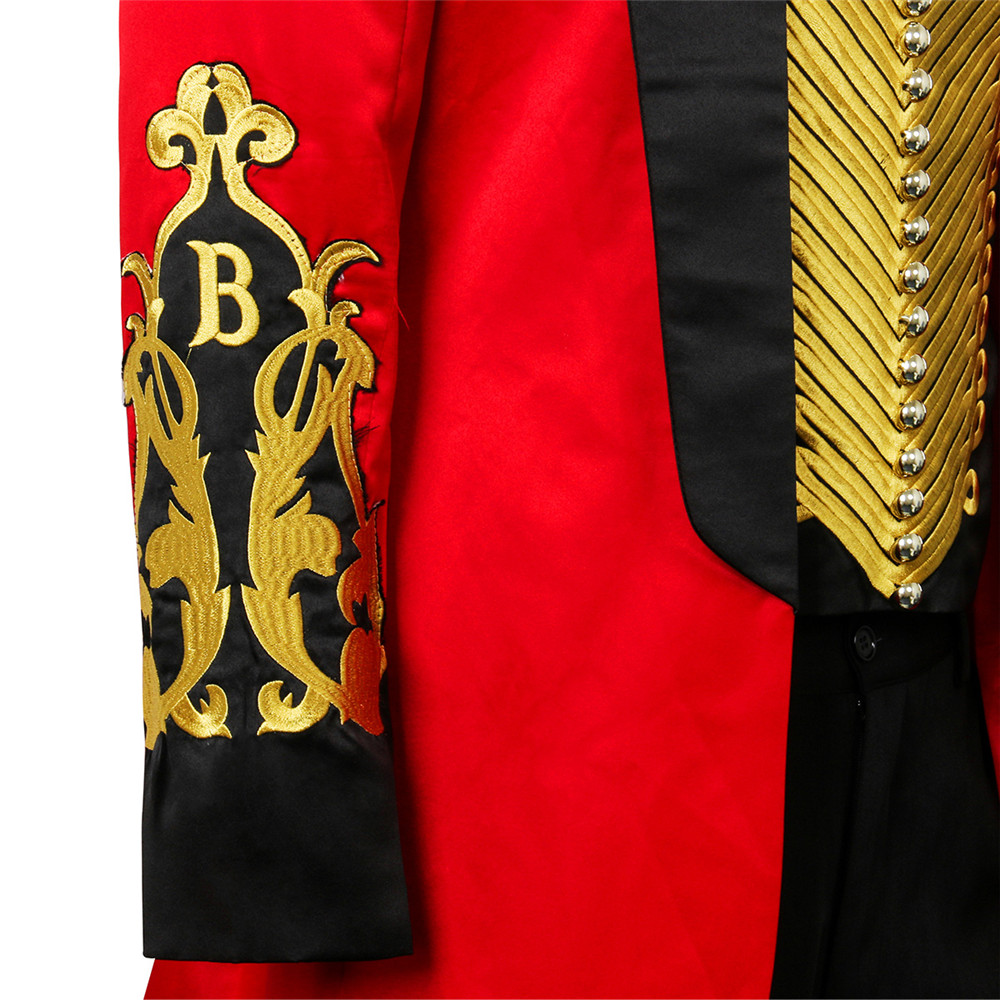 Image 5 - The Greatest Showman P.T. Barnum Cosplay Costume Outfit Adult Men Full Set Uniform Halloween Carnival Cosplay Outfit Custom Made-in Movie & TV costumes from Novelty & Special Use