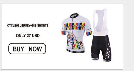 short cycling jersey and bib shorts