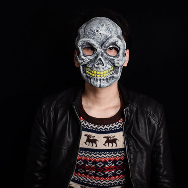 skull design pvc cool horror mask halloween supplies scary halloween party decorations halloween party supplies - Cool Masks For Halloween