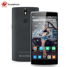 Original Oneplus One 5.5 Inch Smartphone Android 5.0 Snapdragon 801 Quad Core Mobile Phone 3GB RAM 64GB ROM 4G LTE Cell Phone