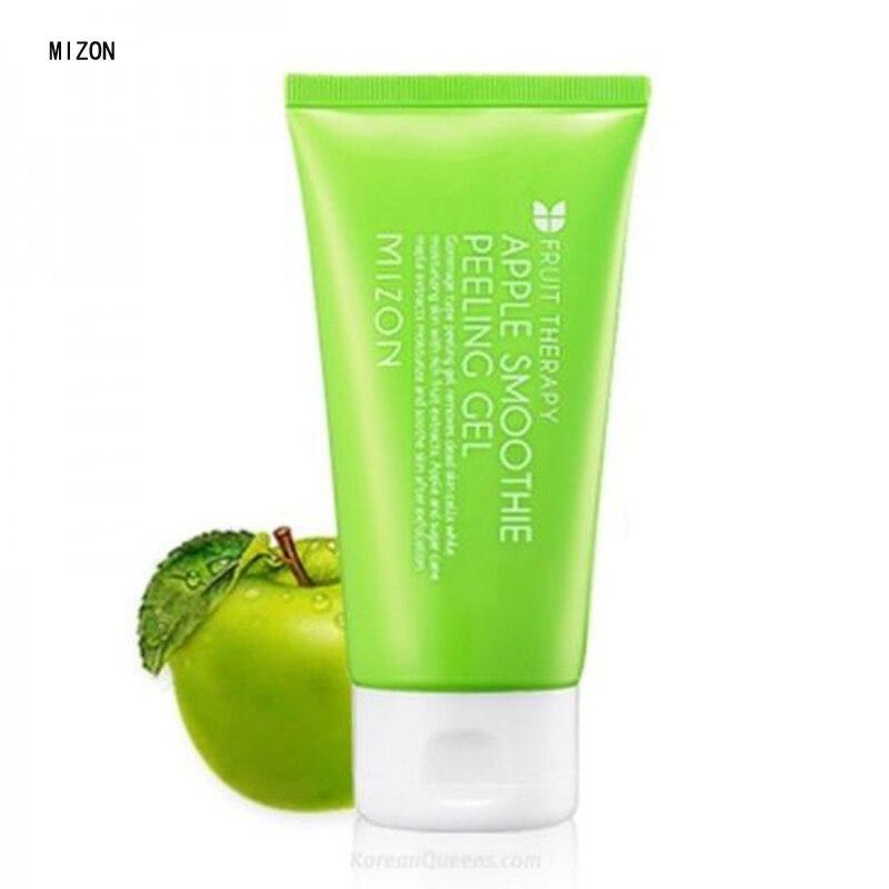 MIZON Apple Smoothie Peeling Gel 120ml Skin Care Facial Exfoliating Whitening Brightening Face Cleanser Korea Cosmetics пилинг mizon pore control peeling toner
