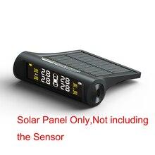 Система контроля давления в шинах TPMS Солнечная энергия 1 x дисплей для внутренней/внешней SensorSolar TPMS диагностики безопасности автомобиля