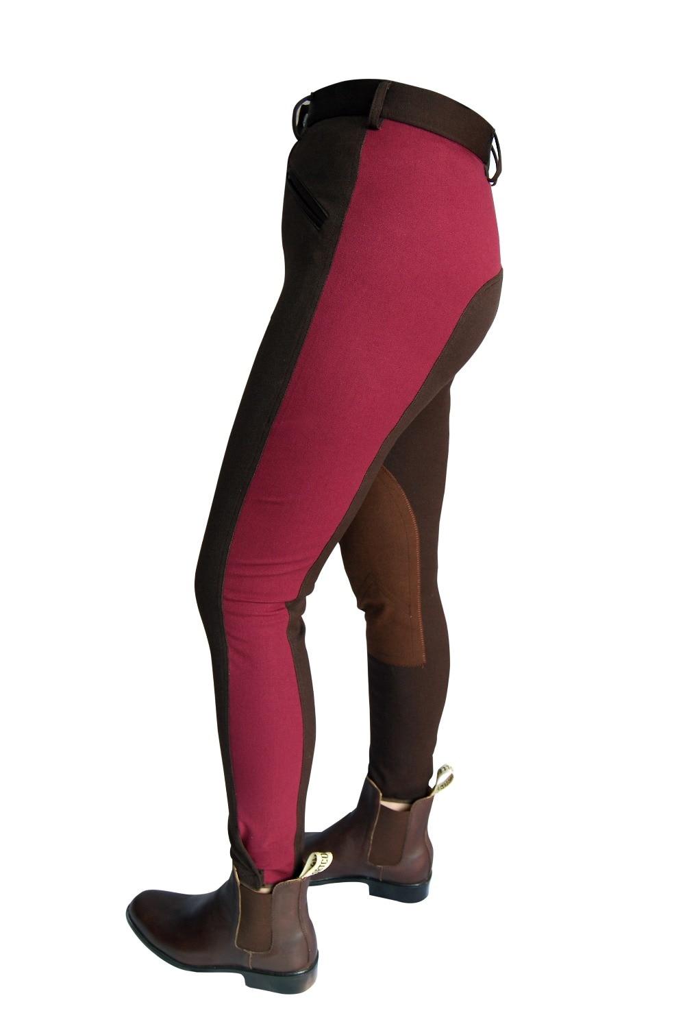 Aoud Horse Riding Pants Breeches Soft Breathable Equestrian Chaps Unisex Women Pants Unisex Halters Saddle Boots Paardensport