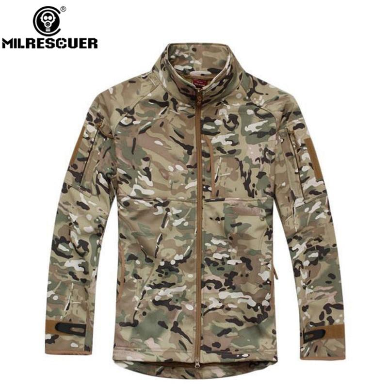 Milrescuer Hunting Jackets Sportswear Camouflage Coat Jacket Waterproof Windbreaker Raincoat Army Jacket Men Hunting Clothes Куртка