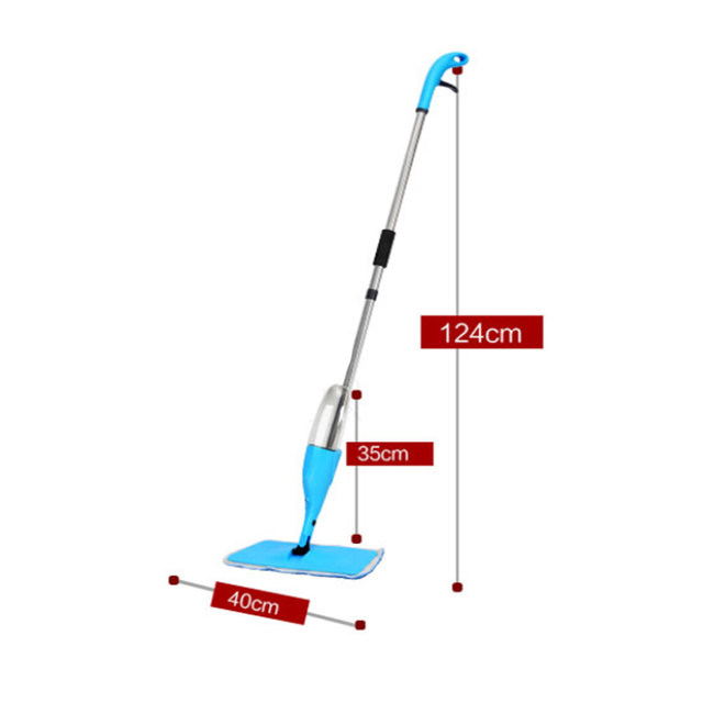 Online Shop Congis 1pc House Cleaning Spray Mop Dry And Wet Apply