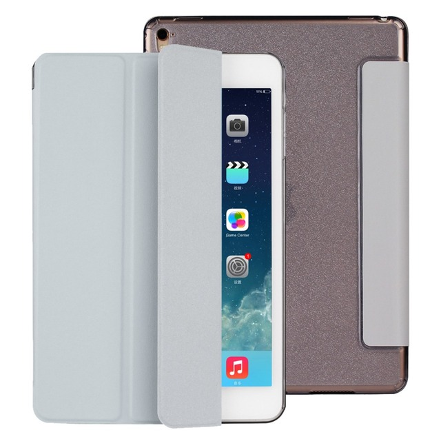 For iPad Pro 9.7 inch Case Bling Glitter Soft TPU Translucent Hybrid Back Cover