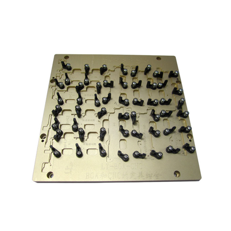 Grinding chips polishing IC Mold suitble for Phone Refurbishing Repair CNC Router Milling machine