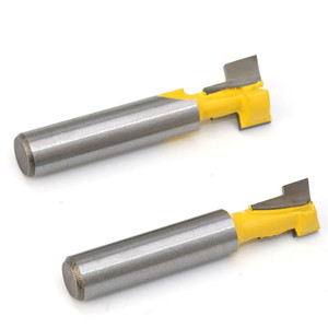 Image 5 - T type Keyhole Milling Cutter 8mm Shank Router Bits Woodworking Wood Cutter Milling Cutters Frame Hanging Wall Cutting Tools