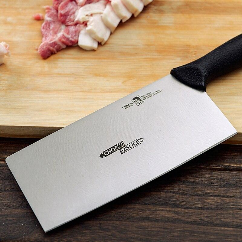 Высокое качество кухонные ножи Германия углеродистой стали Sharp нарезки Ножи свет резки cut резак/нарезки/растительное/повар ножи