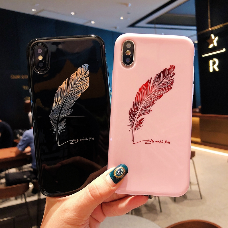Love Heart Case For iPhone 6S 6 Plus 6 s 8Plus Soft Silicone Pink Cover Coque Case For iPhone XS Max XR X iphone 7 8 Plus Cases iPhone