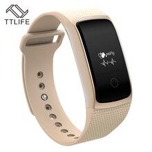 A09 TTLIFE Pulsera Inteligente Bluetooth Heart Rate Monitor de Presión Arterial Monitor de Oxígeno IP67 Impermeable Reloj de la Aptitud PK mi banda 2