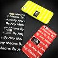 Мода Одежда Логотип Супер Продаж By Any Means Световой Телефон Case Для iPhone 6 6 S 6 Plus 6 s Плюс