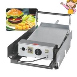 Hamburger Baking Machine Bread Toaster Double Layer Burger Making Machine for Kitchen Appliances FY-212