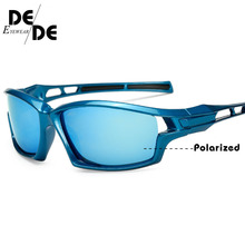 Classic Polarized Sunglasses Men Square Driving Sun glasses Night Vision Glasses Gafas For Men UV400 Male Eyewear Oculos de sol men classic polarized sunglasses male eyewear driving rectangle mirror sun glasses 100% uv400 gafas oculos de sol with box