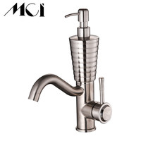 Liquid soap Dispenser Deck Mounted Hot And Cold Water Mix Faucets Home Bathroom Basin Sink Water Faucet Washbasin Tap Torneira