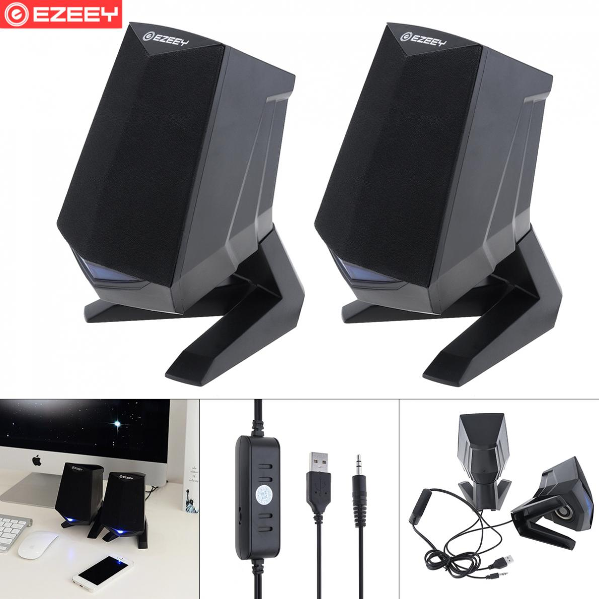 Wooden Full Range 3D Stereo Subwoofer PC Speaker Portable bass Music DJ USB Computer Speakers For laptop Phone TV