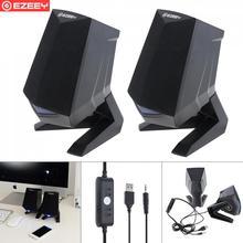 Wooden Full Range 3D Stereo Subwoofer PC Speaker Portable bass Music DJ USB Computer Speakers For laptop Phone TV цена и фото