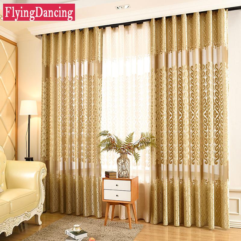 europa tela de encaje cortina para saln comedor de lujo cachemira jacquard cortinas de tul para
