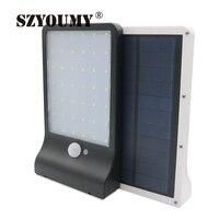 Szyoumy 10ピース高明るい42 ledソーラーmotionセンサーライトランプデッキヤードガーデンホーム私道階段dhl無料