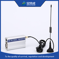 Factory hot 3g data trasnfer modem with tcpip, sim5215e wcdma 3g modem usb rs232 for bulk sms market