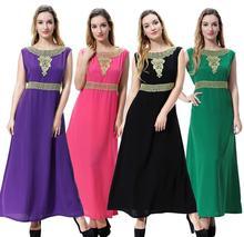 Muslim abaya Lady wool Peach dress Islamic clothing fashion contract color islamic dress national features clothes abaya
