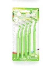 (5Packs/lot) Pesitro Interdental Brush 0.8MM Dental Interdental Cleaning Brushes Orthodontic Brush Oral Care Toothbrush