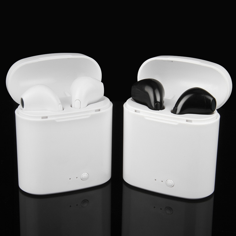 New Double Ear mini bluetooth Headsets pods Earbuds wireless Headphones Earphone Earpiece not air pods for apple iphone Android купить