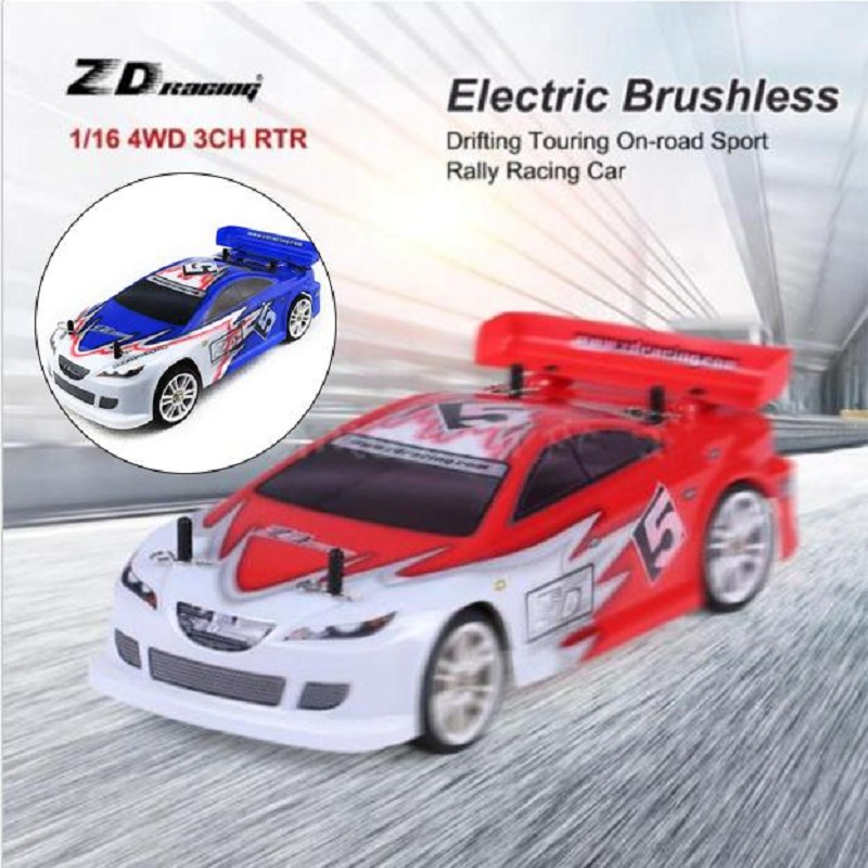 Racing Car D16 M6 4WD h On road Off Road Car Electronic With Remote ...