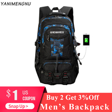 15.6inch Backpack For Teenagers Business Casual Travel USB Waterproof Anti Theft Backpacks for Men