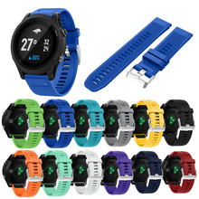 New Hot Replacement Silicagel Soft Quick Release Kit Band Strap For Garmin Forerunner 935 GPS Watch akll saatdrop shopping