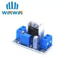 100PC LM317 réglable régulateur de tension alimentation LM317 DC DC convertisseur Buck abaisseur Module de carte régulateur linéaire