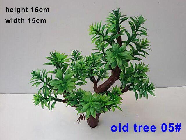 Online shop model boom 16 cm groene kleur park street landschap