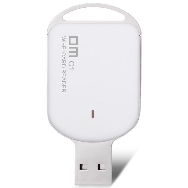 DM WFD011 Wi-fi Sem Fio Apoio TF Cartão de Leitor De Cartões de Alta Velocidade de Transferência de Interface USB para Smartphones Tablet PC