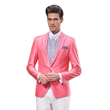 DAROuomo Skinny Suits for Men's Business Dress Suits Jacket with Pants Blazer Suit Soft and Breathable DR8656