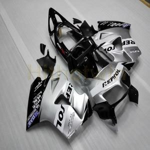Image 5 - Обтекатель для мотоцикла, изготовленный на заказ, ABS ДЛЯ VFR800, 1998, 2000, 2001, VFR 800, 98 01, Botls, белый, красный, M2
