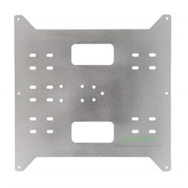 Замена Y каретки обновление алюминиевая пластина для производителя выбор, Wanhao Дубликатор i3 и Anycubic i3 Мега 3D принтеры