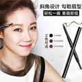 Waterproof Long lasting Eye Brow Enhancer Natural Black Eyebrow Pencil With Brush Makeup Tools Eye Liner Pen Cosmetics Make up