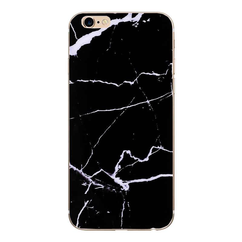 Kissed ميكي ميني ماوس الهاتف الذكي قضية fundas آيفون 7 8 X غطاء من السيليكون آيفون se 6 7 8 plus X الرخام غطاء هاتف محمول